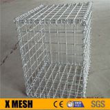 Welded wire mesh Hesco barrier for stone retaining wall