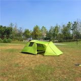 Outdoor Equipment Tent Four Person 1 Hall 1 Room Family RainProof Tents For Camping