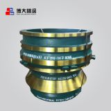 Bowl Liner Suit for Metso nordberg gp100 gp100s bowl liner and concave Cone Crusher Wear Parts