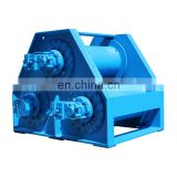 Logging Towing Winch and Marine Hydraulic Shipyard Winch