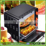 Industrial bakery equipment bread baking electric pizza oven with good price