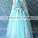 New Fashion Girls Frozen Elsa Dress Kids Princess Dress Children Party Dress Summer Dress for Baby & kids 10pcs/lot                                                                         Quality Choice