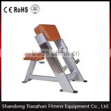 body slimming gym equipment /sport exercise fitness machine /Preacher Curl/tz-5027