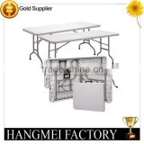 wholesale hotel furniture restaurant plastic folding table                                                                         Quality Choice