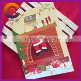 2015 Wholesale Stock New Year Customizable Paper Crafts Marry Christmas Card