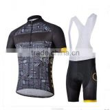 2014 Breathable Quick Dry Custom Bib Cycling Jersey Sets