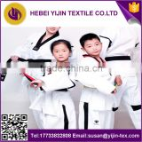 cheap taekwondo taekwondo uniform fabric functional fabric white and dyed 2016 hot sale