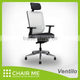 Best selling, seat slide and adjustable armrest and tilt mechanism aluminium office chair