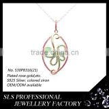 Different types of pendant chains jewelry,Classic Chinese designs pendant for women ,infinity pendant wholesale in China