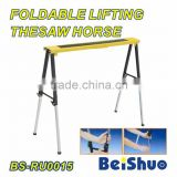 BS-RU0015 Foldable height herringbone iron bracket ladder