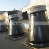 DCI Double Flanged Reducer, epoxy coated, for PN 16 pressure line