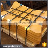 8E4193 8E4196 8E4197 bulldozer parts hot cupped heat-treated 16Mn Q345B bulldozer dozer cutting edge end bit