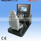 car driving simulator with camera