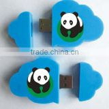 fashion promotion gift PVC cloud shape with logo usb flash drive                                                                         Quality Choice