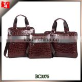 Custom Top quanlity brown leather handbag business opportunity for you