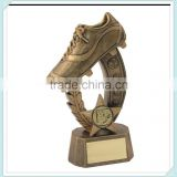 Resin Football Boot Trophy