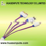 4 in 1 Universal Custom USB Charging Cable for All Mobile Phones                                                                         Quality Choice