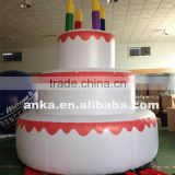 Bespoke big inflatable happy birthday cake model                                                                                                         Supplier's Choice