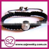 Wholesale Black Bracelet With One Bead Chain Jewelry Charm Baby Bracelet