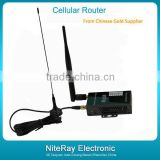 12volt dc wireless modem router 3g industrial wireless router with Single sim