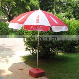 Cheap Price Wind Resist Standard Size Custom Printing Round Colourful Outdoor Patio Advertising Beach Umbrella with fringe