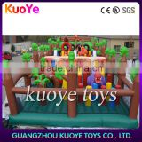 inflatable multiplay funcity,inflatable play amusement park,bouncy playground inflatable rides