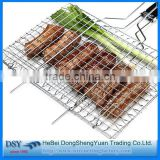 barbecue wire mesh /barbecue grill netting/stainless steel BBQ grill/stainless steel barbecue bbq grill wire mesh net