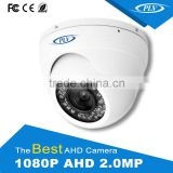 Best price 2.1 megapixel camera ahd outdoor night vision dome full hd cctv camera for security system