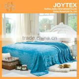 2014 hot super soft solid color carving flannel fleece adult blanket