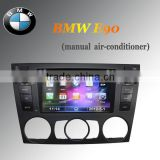 Car Multimedia GPS system bluetooth mp3 For BMW E90 Manual AC