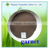High Hardness Abrasive Media Garnet Sand 80 Mesh