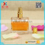 Customer made beautiful flat cosmetic packing bottle/perfume bottle for sale                                                                                                         Supplier's Choice