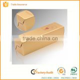 recycled decorate branded design cardboard paper wine boxes wholesale