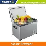 DC 12V K50 portable car fridge freezer new design mini fridge solar powered portable refrigerator