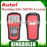 Original Autel MaxiDiag Elite MD702 OBD II Auto Code Scanner Basic 4 Systems (Engine,Transmission,ABS and Airbag) MD702