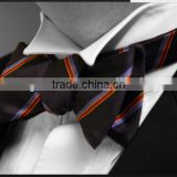 Fashion cheap bow ties colorful polyester men bow ties