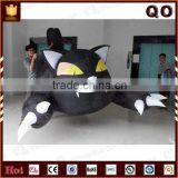 Halloween decoration items realistic decoration halloween inflatable black cat