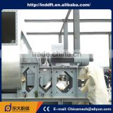 International Standard competitive price custom flexible activated zinc oxide hot air furnace
