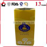 Heat Seal Aluminum Foil Gusseted Coffee Packaging Bags With Valve , Biodegradable