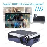 1280x800 home theater Digital multimedia video Full HD 1080p 3D LED projector projetor with HDMI USB VGA TV tuner