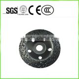 PCD grinding cup wheel for epoxy coating removal