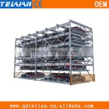 3 Layer Multi Storey Parking System Multi-Level Parking System Car Elevator Parking System