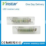 car accessories led license plate light for cars auto led license bulb auto license lamp for Por.sche