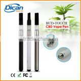 510 cartridge cbd hemp oil refillable disposable atomizer cartridge bud touch vaporizer pen ecig