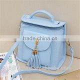 Fashion style PU candy color shoulder bag cross bady bag backpack bag                                                                         Quality Choice