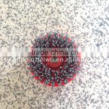 Circle Antique Brush with Screw M14 Silicon Carbide Abrasive Tools for Hand Operate Polishing Machine Granite Polishing