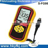 CE ROHS approval thickness measuring instrument digital thickness gauge