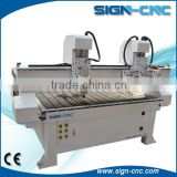 3d wood cutter cnc engraving machine for cabinet, furniture, woodworking cnc cutting machine with multi heads
