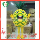 HI wholesale used plush pineapple mascot costume for adult, walking mascot