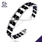 China Manufacturer 2015 latest stainless steel iron bracelet